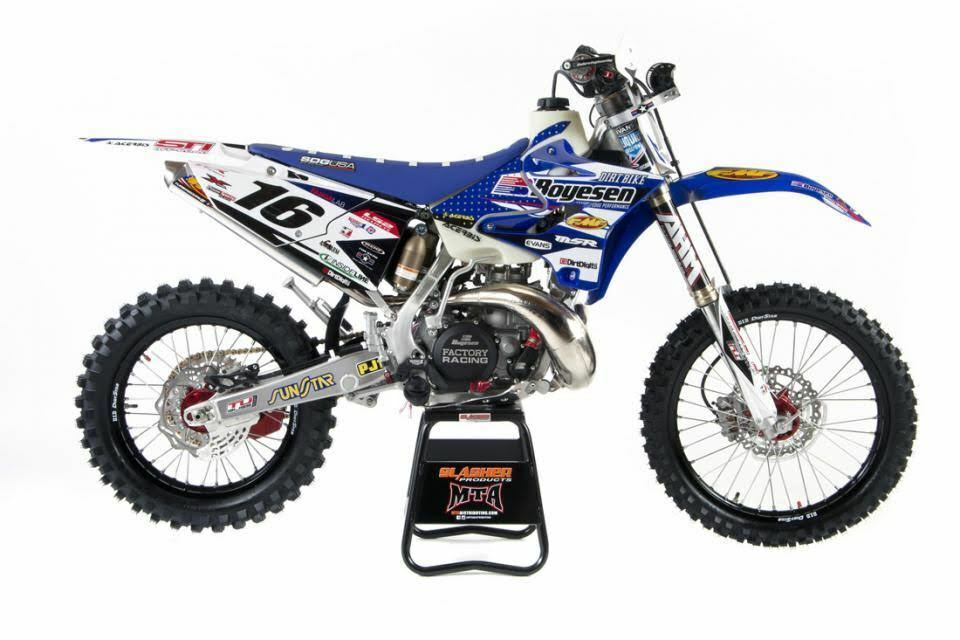 Boyeson Blue Yamaha Graphics Kit