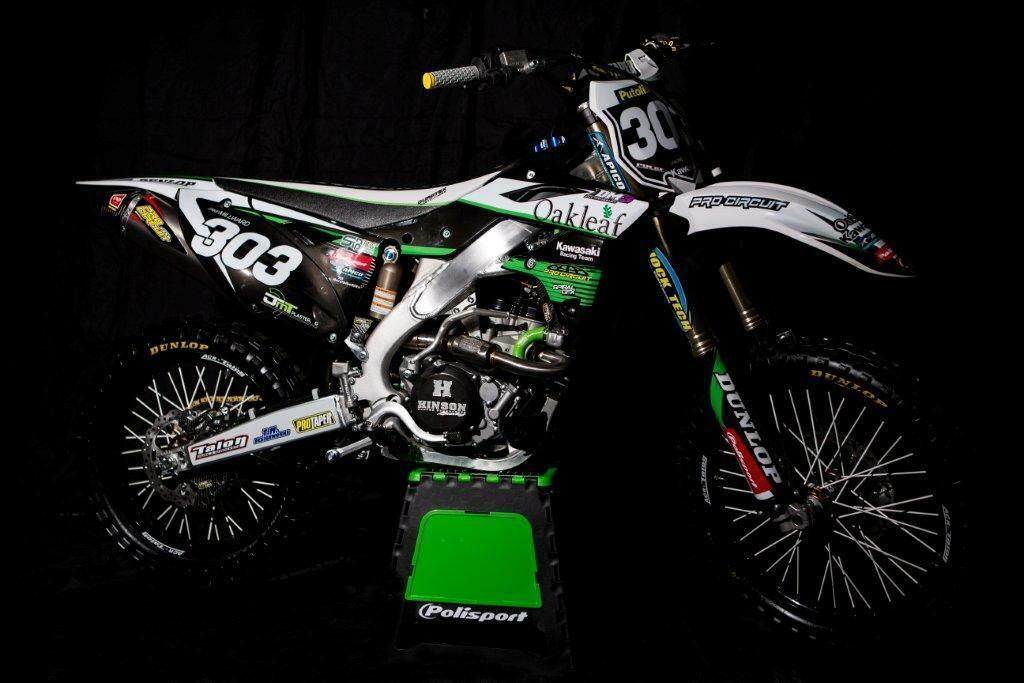 Oakleaf Kawasaki Graphics Kit